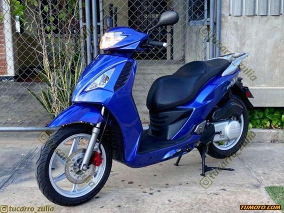 Motos Scooter Linhai 200 2018