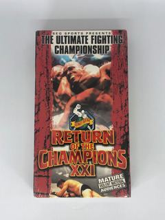 Película Vhs The Ultimate Fighting Campionship