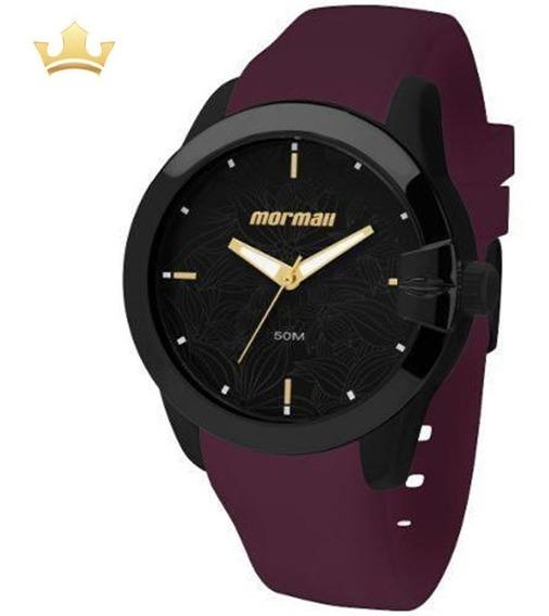 Relógio Mormaii Feminino Mo2035dw/8n C/ Garantia E Nf Full