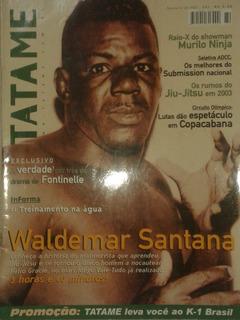 Tatame - O Único Homem A Nocautear Hélio Gracie ( Revista )