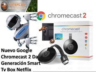 Chromecast 2 Da Generacion Smart Box Netflix