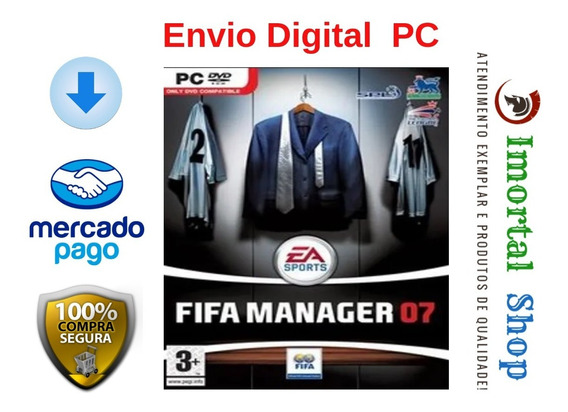Fifa Manager 07 Mídia Digital Pc