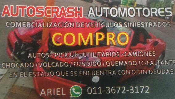 Compro Autos Sanos Y Chocados!!