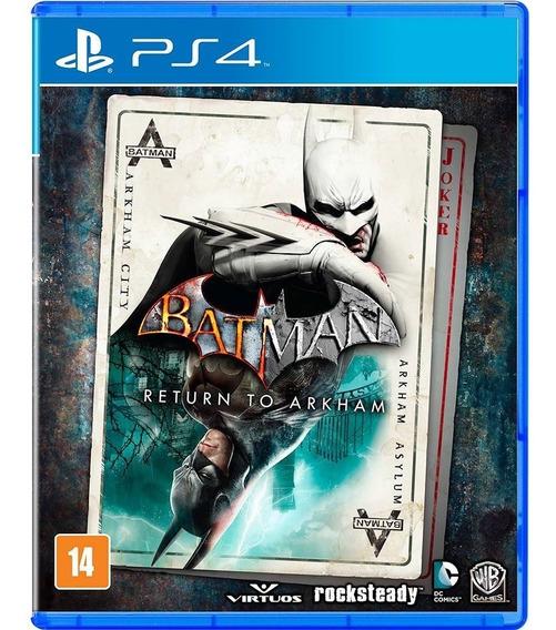 Jogo Batman - Return To Arkham - Ps4