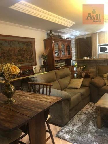 Apartamento Com 2 Dormitórios À Venda, 63 M² Por R$ 466.000,00 - Vila Carrão - São Paulo/sp - Ap3282