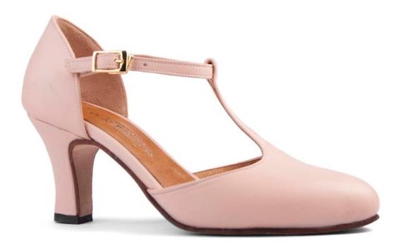 Zapatos De Tango, Folklore, Jazz Nude Cerrados