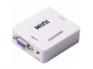 Conversor Vga A Hdmi + Audio Adaptador Cable 1080p Todelec