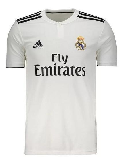 Camisa adidas Real Madrid I 1 Home Branca 2018/19 Original