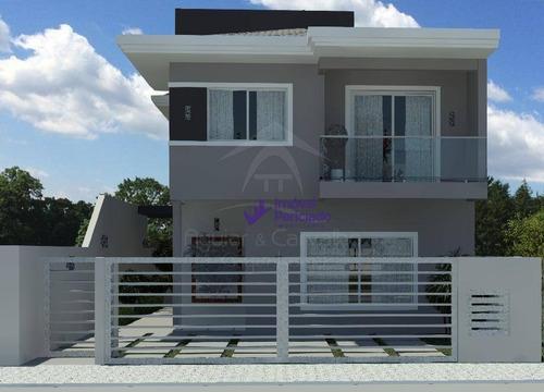 Imagem 1 de 3 de Sobrado Com 3 Dormitórios À Venda, 13795 M² Por R$ 530.000,00 - Jardim Perola Do Atlântico - Itapoá/sc - So0099