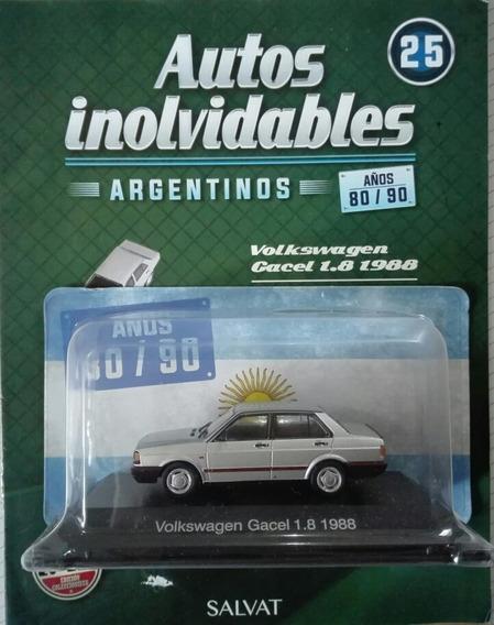 Autos Inolvidables Años 80/90 N°25 Vw Gacel 1.8 + Fasiculo