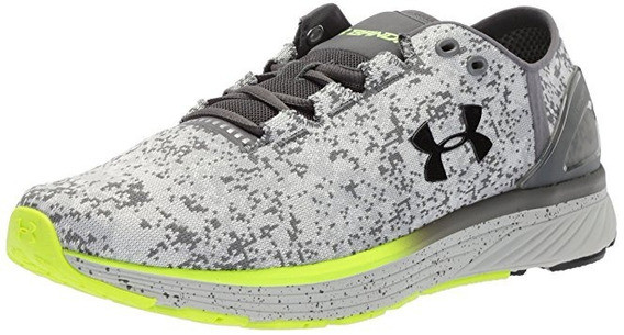 Tenis Under Armour Charged Bandit 3 Silver 12 Us