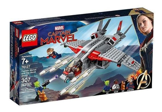 Lego Super Heroes Capitana Marvel: Ataque De Skrulls 76127