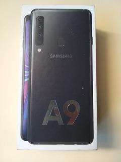 Celular Samsung A9 2018 Black-negro 128 Gb Y 6 Gb Ram