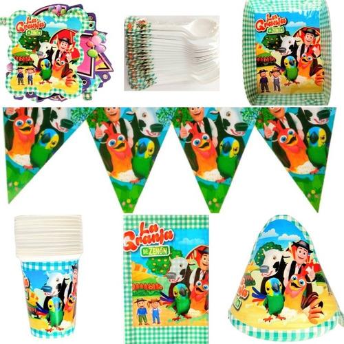 Kit Granja De Zenon Fiesta Infantil