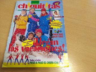 Revista Chiquititas N° 3 1996 Brat Pitt Completa Con Poster