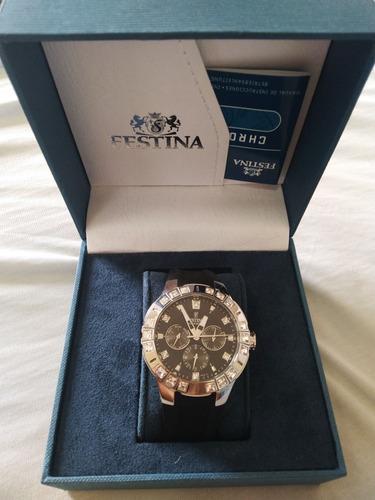 Relógio Feminino Festina F16559 Preto