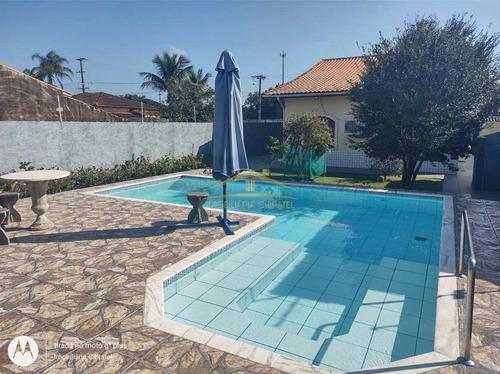 Casa Com 4 Dorms, Cibratel Ii, Itanhaém - R$ 600 Mil, Cod: 1421 - V1421