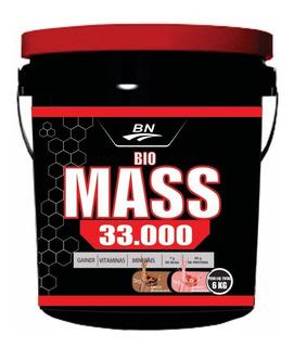 Bio Mass 33000 Balde 6kg = 3kg Mor E 3kg Choc.(+ Brinde )