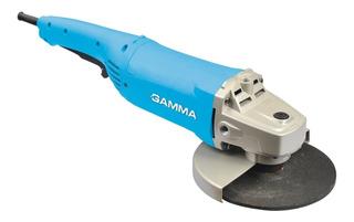 Amoladora Angular Gamma G1914 De 50hz Celeste 220v