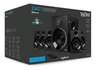 Cine En Casa Parlantes 5.1 Bluetooth Logitech Z607 Usb Sd