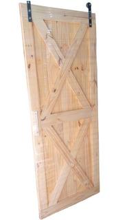 Puerta Granero Corrediza Con Kit
