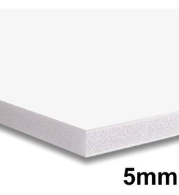 4x Placa Foam Board 35x50 Branco 5mm Contracole Papel Pluma