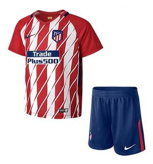 Camisa Atlético De Madri Infantil 17/18 - Queima De Estoque