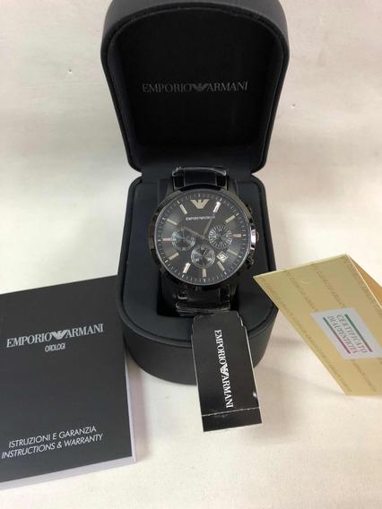 Relógio Emporio Armani Ar2453 Com Caixa E Garantia