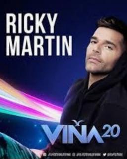 Entradas Ricky Martin Sector Galerias Viña 2020