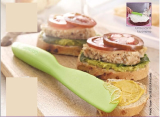 Cuchillo De Plastico Multifuncional Tupperware Verde