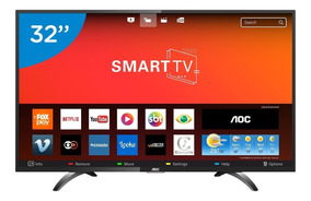 Smart Tv Led 32 Polegadas Aoc Le32s5970s Hd Wifi 2 Usb 3 Hdm