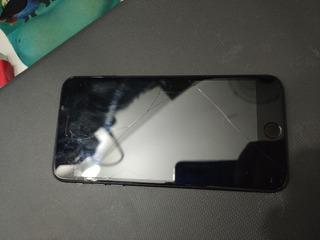 iPhone Black 7 Plus 128gb (liga Mas Não Ativa)