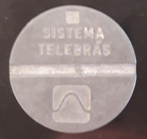 Imagem 1 de 2 de Ficha Telefônica  Local Sistema Telebrás