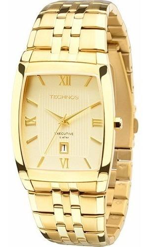 Relógio Technos Masculino Dourado 1n12mp/4x