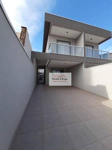 Imagem 1 de 22 de Sobrado À Venda, 157 M² Por R$ 1.098.000,00 - Vila Galvão - Guarulhos/sp - So0235