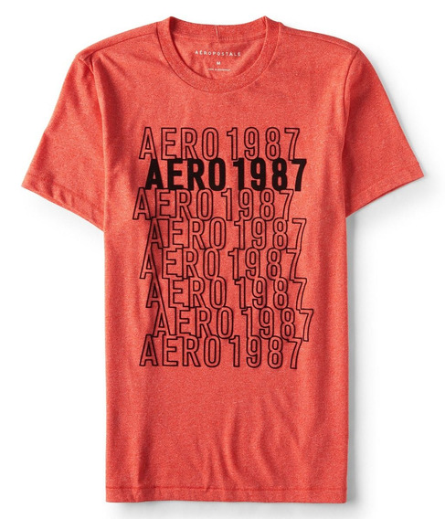 Remera Aeropostale Hombre Talle Xl Orig Usa Centro Caballit