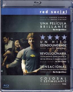Red Social ( Jesse Eisenberg ) Bluray Original Nuevo Sellado