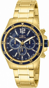 Relógio Invicta Specialty Colletion Making History Ouro 18k