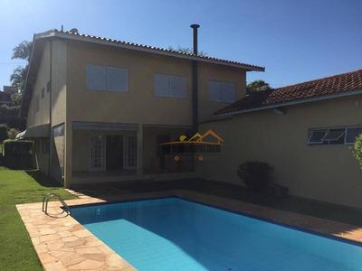 Casa Com 4 Dormitórios Para Alugar, 380 M² Por R$ 3.600/mês - Condomínio Campos De Santo Antônio - Itu/sp - Ca1441