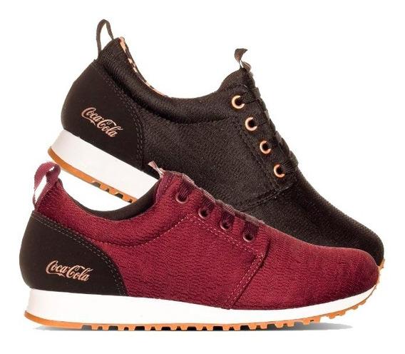 Tênis Coca Cola Shoes Sense Original Feminino Urbano + Nf