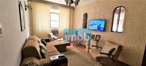 Imagem 1 de 15 de Apartamento Com 2 Dormitórios À Venda, 65 M² Por R$ 320.000,00 - Campo Grande - Santos/sp - Ap1367
