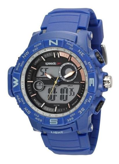 Relógio Speedo Masculino Ref: 81186g0evnp1 Big Case Anadigi
