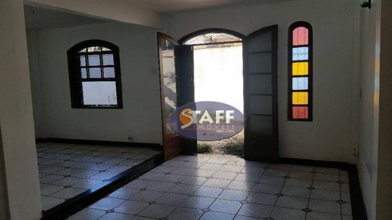 Casa Com 03 Dormitórios Para Aluguel Fixo, 150 M² - Bairro Palmeiras - Cabo Frio/rj - Ca0967