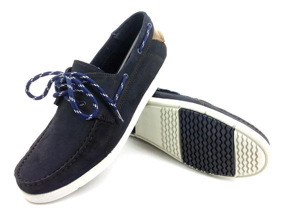 Zapatos Hush Puppies Rooftop Azul Hombre 190239 Eezap