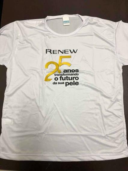 Camiseta Avon Renew 25 Anos Unissex Blusa Camisa