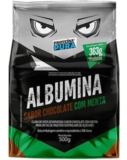 Albumina Desidratada 500g - Proteína Pura - 7 Sabores