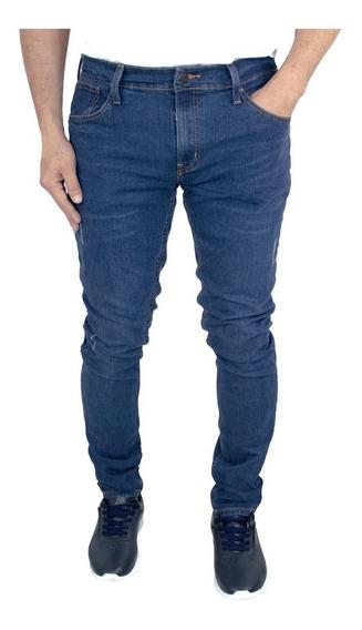 Jeans Breton De Mezclilla Skinny Fit. Estilo Bjm037