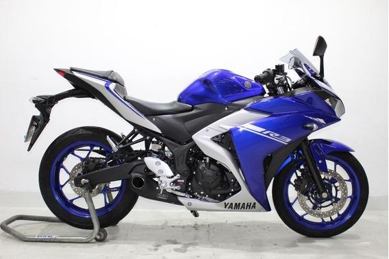Yamaha Yzf R3 Abs 2018 Azul - Baixo Km