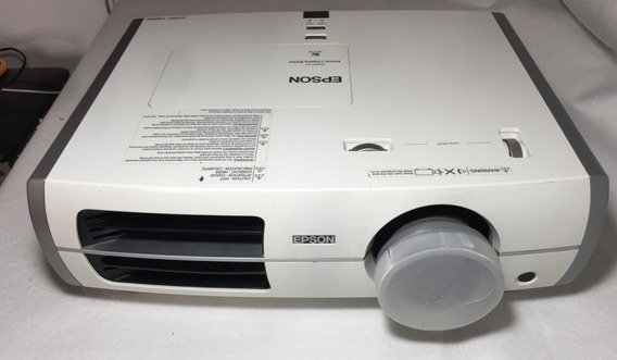 Projetor Epson Home Cinema 8350 Full Hd + 3d / Usado