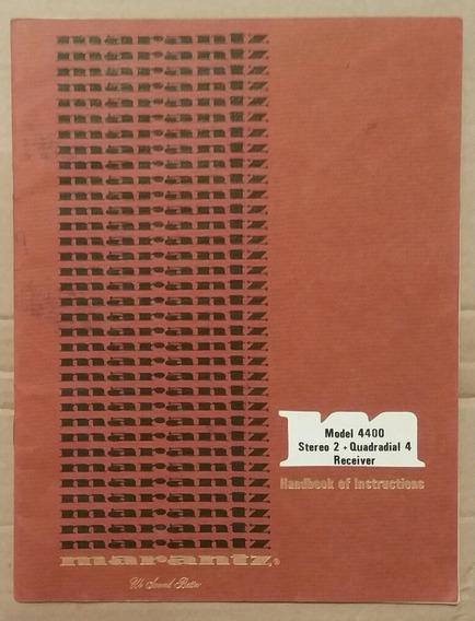 Manual Do Usuário Original Receiver 4400
